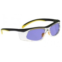 Poly Sodium Flare Glass Working Glasses in Yellow/Black Safety Frame - 5... - $63.82