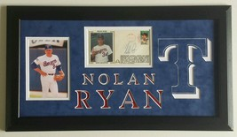 Nolan Ryan Signed Autographed First Day Letter Texas Rangers Framed 10x20 - $242.74