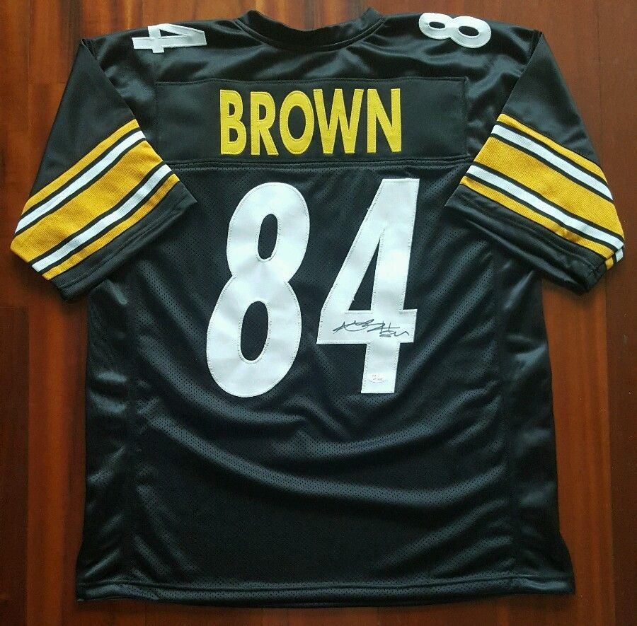 Antonio Brown Autographed Signed Jersey Pittsburgh Steelers JSA afa1a72f7