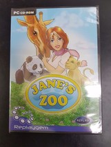 PC Jane's Zoo (Brand New Sealed) (Free Shipping) - $10.74