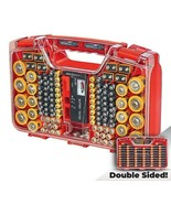 Battery Daddy 180 Battery Organizer and Storage Case Caddy Tester as see... - $27.67