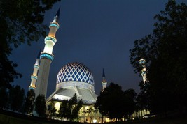 Vinteja Photography - Sultan Salahuddin Abdul Aziz Shah Mosque in Selang... - $19.79