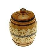 c1895 Doulton Lambeth 5.5 inch tobacco jar - $330.75