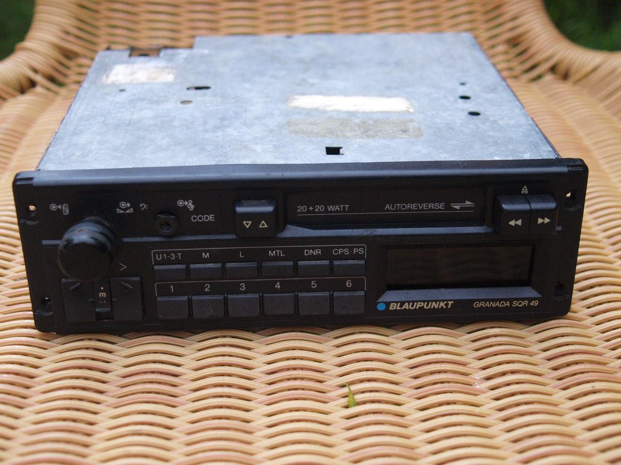 vintage blaupunkt granada sqr 49 cassette and 50 similar items rh bonanza com