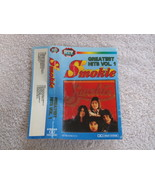 SMOKIE GREATEST HITS VOL. 1  AUDIO CASSETTE MADE IN POLAND - $14.84
