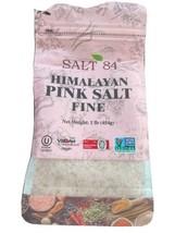 SALT 84 Himalayan Chef Pink Salt, Fine Grain, 1 Pound (Pack of 1) - $10.89
