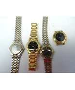 LOT OF 4 VINTAGE GUCCI QUARTZ WATCHES FOR RESTORATION OR PARTS ONE RUNS - $382.17