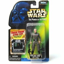 Star Wars Power of the Force Freeze Frame Grand Moff Tarkin Action Figur... - $9.98