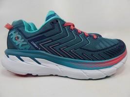 Hoka One One Clifton 4 Sz 7 M (B) EU 38 2/3 Women's Running Shoes Green 1016724