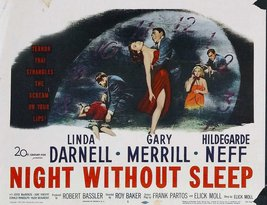 Reproduction of a poster presenting - Nightwithoutsleep - A3 Poster Prints On... - $22.99