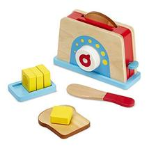 Melissa & Doug Bread and Butter Toaster Set - $23.80