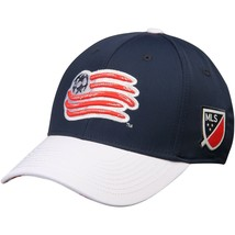 New England Revolution adidas MLS Authentic Team Structured Flex Hat siz... - $19.99