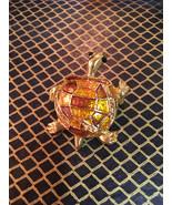 Beautiful vintage sea turtle nautical brooch - $7.00