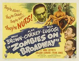 Reproduction of a poster presenting - Vengeance Of Zombies 02 - A3 Poste... - $22.99