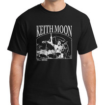The Who Drummer Keith Moon on Drums Shirt T-shirt Unisex Shirt Mens Tshirt - $19.95+