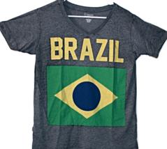 Brazil Women's Flag Graphic T-Shirt - $15.95