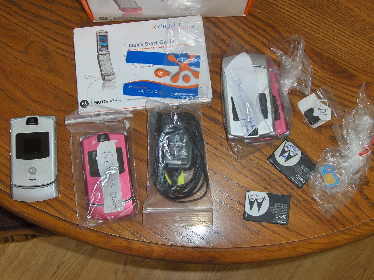 Motorola Razr Phones Parts & Case Replacements
