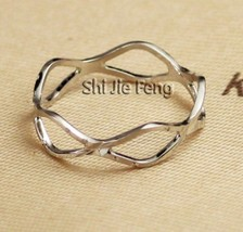 Gold Plating Cutout Alloy Ring(Size: Platinum-16 ) - $7.99