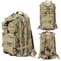 Military Tactical Backpack Bag Hiking Trekking Camping Daily EDC CP Camo... - $18.80