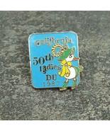 California 1987 50th Ladies DU DUCKS UNLIMITED Vintage Lapel Souvenir Ha... - $11.99