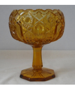Vintage McKee or L E Smith QUINTEC - Amber Gold... - $12.00