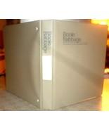 "Beige B&B 1"" professional STURDY hard-cover 3-ring binder w/inner pocket... - $0.98"
