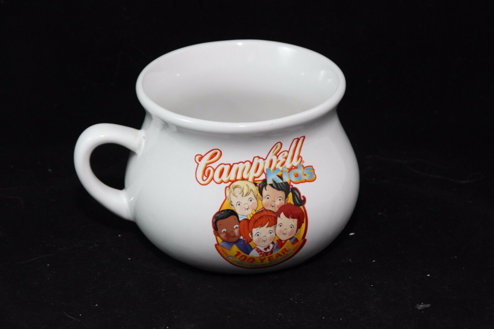 Campbells Kids Soup Mug 2003 100th Anniversary Oversize