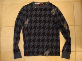 Hawk Skateboarding Logo Pattern Long Sleeve Sweater S / M - $22.28