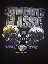 Cowboys Classic LSU vs TCU 2013 T-Shirt Size Large 289c Apparel Authenti... - $16.00