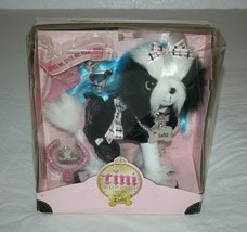 Tini Puppini Puppy Dog Tisha Playset Plush Soft Toy Stuffed Dress Style Pose New - $58.02