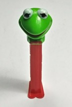 VTG 1991 Kermit the Frog Muppets Pez Candy Dispenser w/ Feet Made In Hungary - $9.79