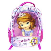 "2cb773d5ac NEW Disney Sofia the First Princess School Royal Prep Academy Backpack  16"" Bag - $29.99"