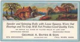 Beautifully Illustrated Vintage 1930 Advertising Ink Blotter from Fall R... - $12.86