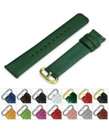 Genuine Leather Strap Quick Release PIn 18mm 20mm 22mm 24mm Wrist Watch ... - $25.75+