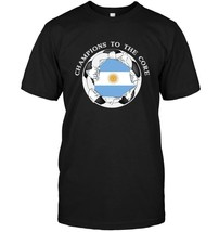 Argentina Soccer T Shirt Champions To The Core Football - $17.99+