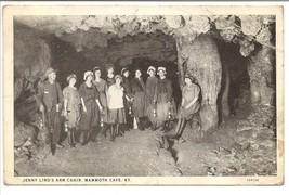 1927 Vintage Post Card, Black & White Photo of Women in Mammoth Cave, Ke... - $9.75