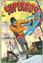 Superboy Comic Book #161, DC Comics 1969 FINE - $8.79
