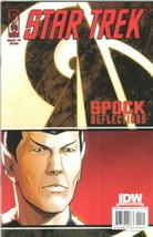 Star Trek: Spock Reflections Comic Book #2 Idw 2009 Near Mint New Unread - $3.99