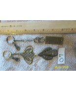 # purse jewelry bronze color keychain backpack filigree charms lot 07 lo... - $5.56