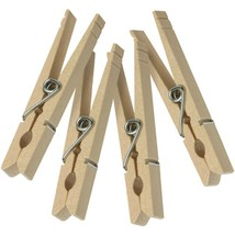 Honey-Can-Do(R) DRY-01375 Wood Clothespins with Spring, 50 pk - $22.60