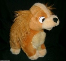"11"" VINTAGE DISNEY LADY AND THE TRAMP MOVIE STUFFED ANIMAL PLUSH TOY DOG... - $14.03"