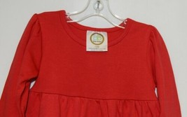 Blanks Boutique Red Long Sleeve Empire Waist Ruffle Dress Size 12M - $14.99