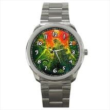 Watch sport metal godzilla godzila  nerd gamer wristwatch unisex - $21.00