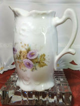 """ANTIQUE PORCELAIN PITCHER ADVERTISING """"Compliments of the Union Soule Furnishing image 4"""