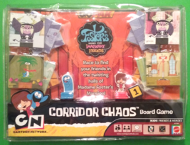 GOPAK Fosters Home For Imaginary Friends Corridor Chaos Board Game 2006 - $42.95