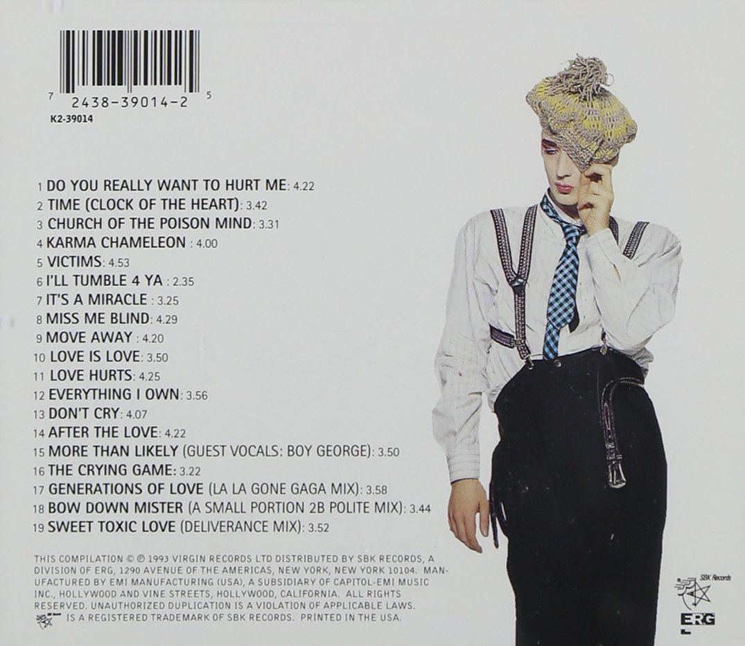 At Worst... The Best of Import Boy George Culture Club