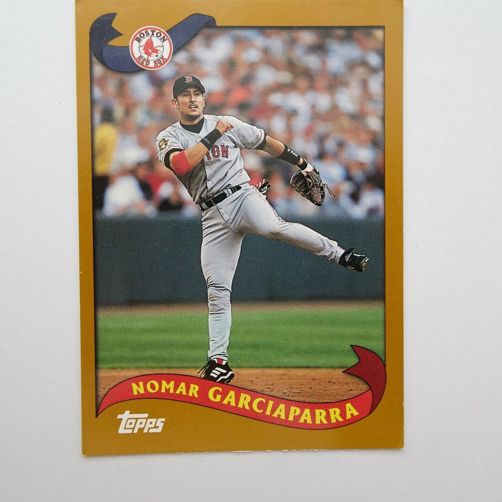 NOMAR GARCIAPARRA #24 Topps x Kanebo GUM 2003 Boston Red Sox