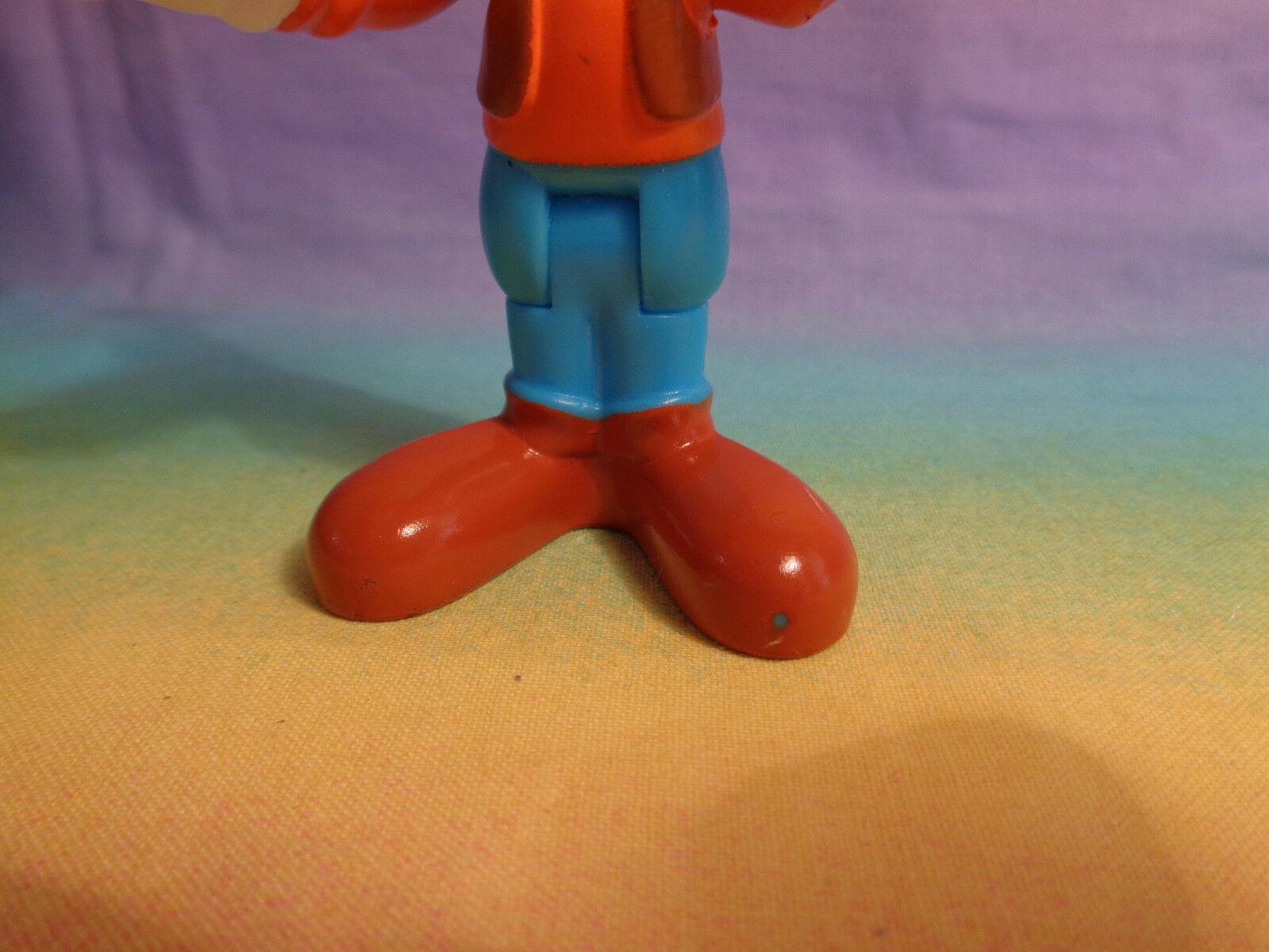 2013 Mattel Disney Bendable at Waist Goofy Figure - as is - scraped