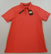 new Nike Golf Zonal Cooling men shirt standard fit AQ2723-816 orange S M... - $34.99