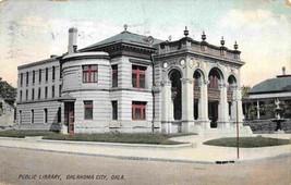 Public Library Oklahoma City OK 1909 postcard - $4.90